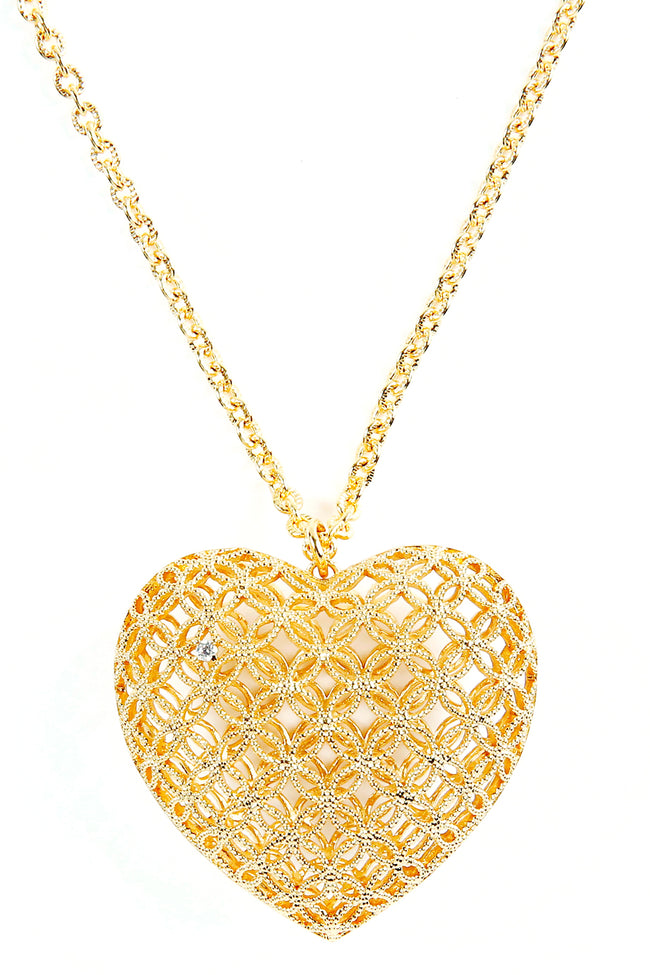 Heart Necklace (Big) - Arium Collection