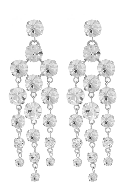 Snow White Chandelier Earrings - Arium Collection