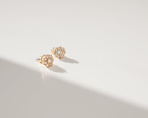 Snow Flake Earrings - Arium Collection