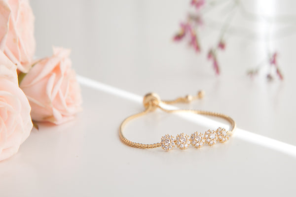 Snow Flake Bracelet - Arium Collection