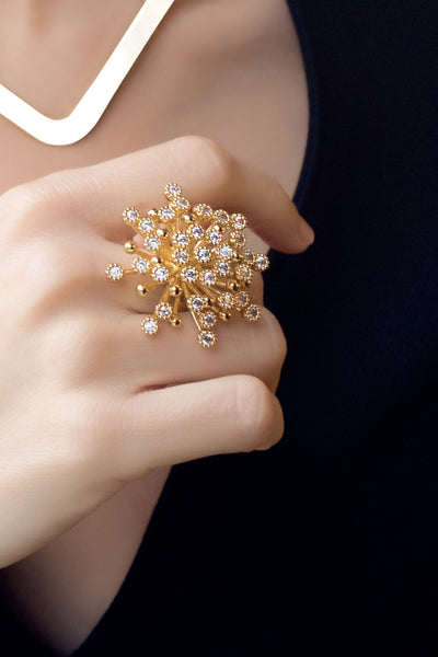Starry Night Ring (Large) - Arium Collection