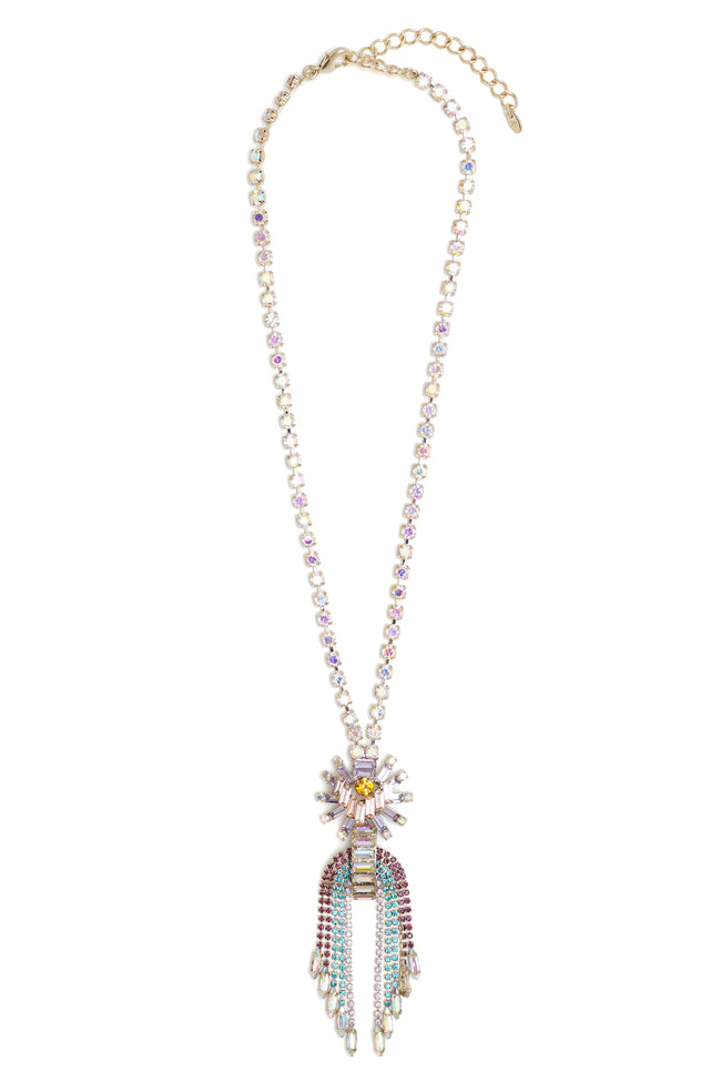Sunrise Chandelier Necklace - Arium Collection