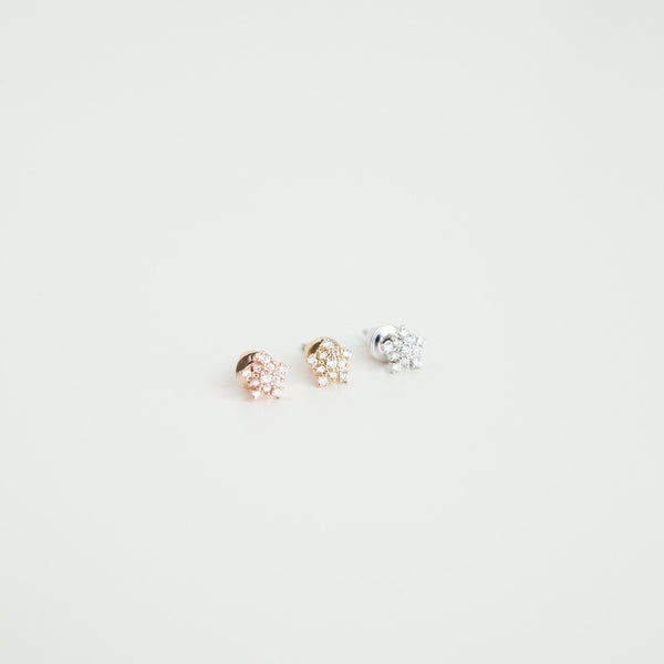 Shooting Star Earrings (Stud) - Arium Collection