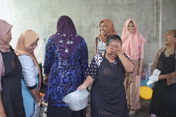 Women empowerment through training in East Java