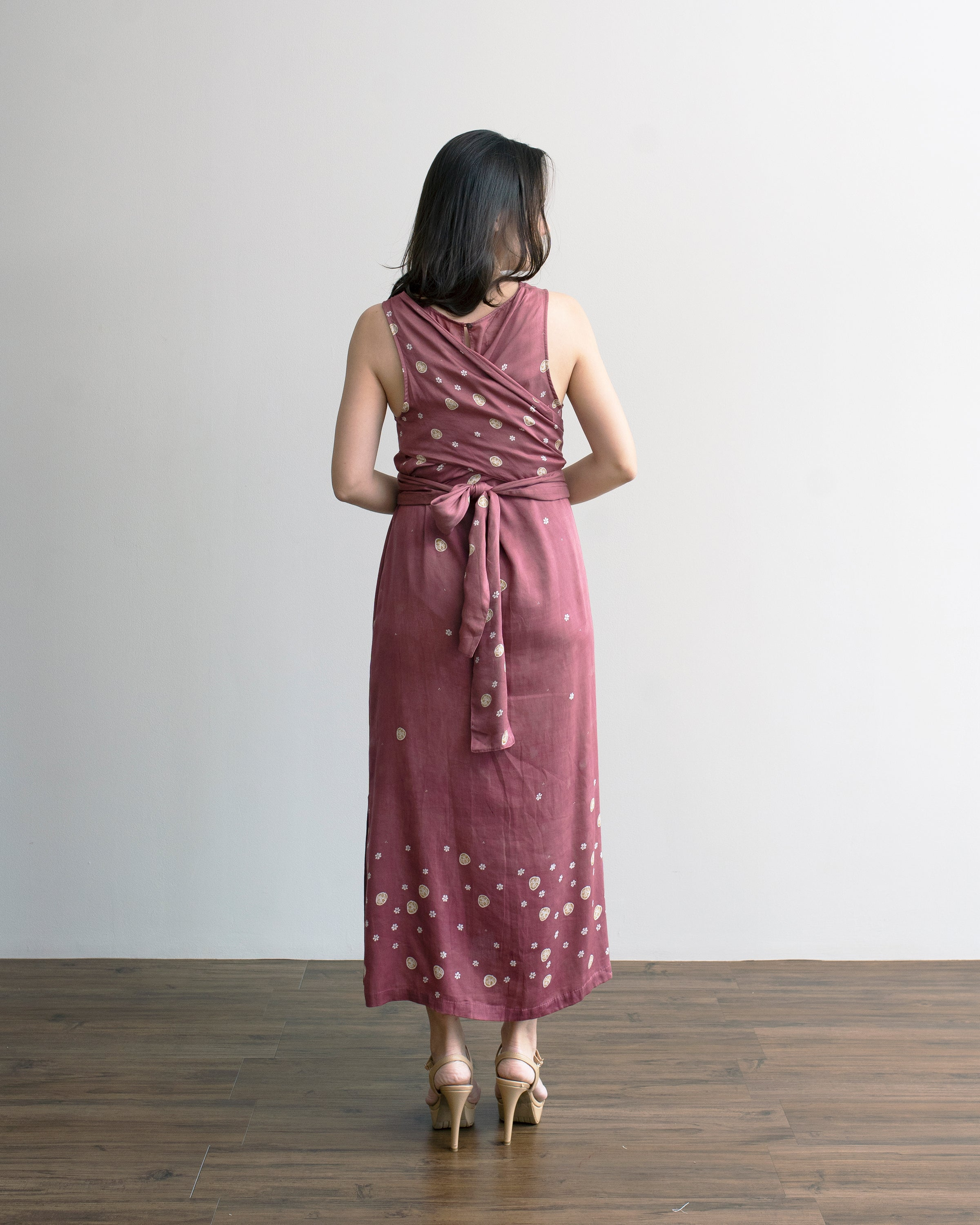 SAKURA - Cross Back Dress