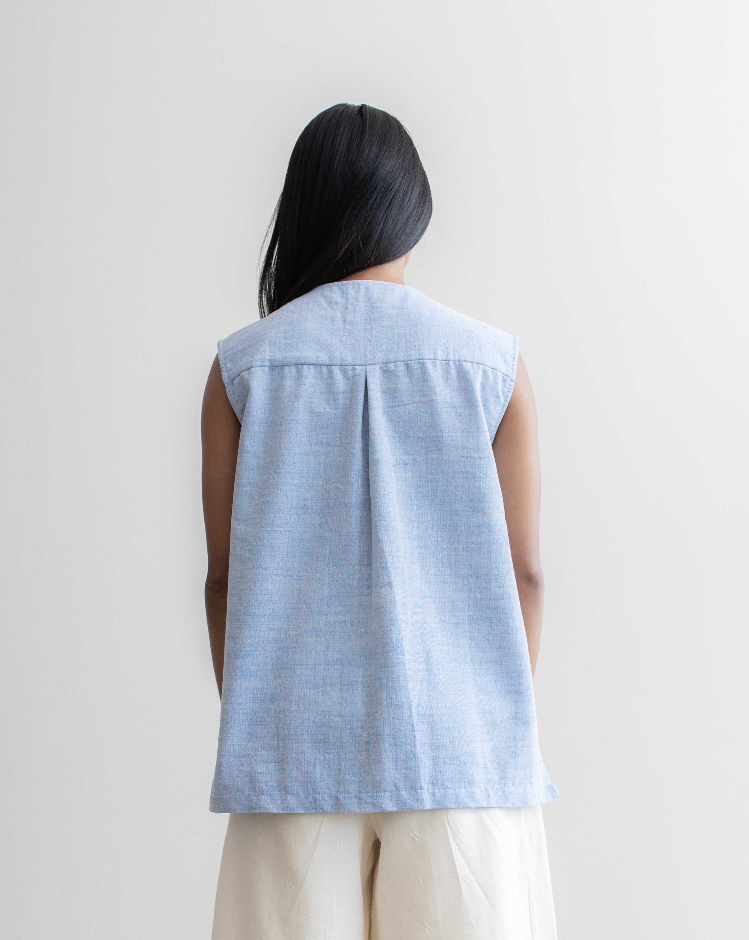 CHAMBRAY - Everyday Top