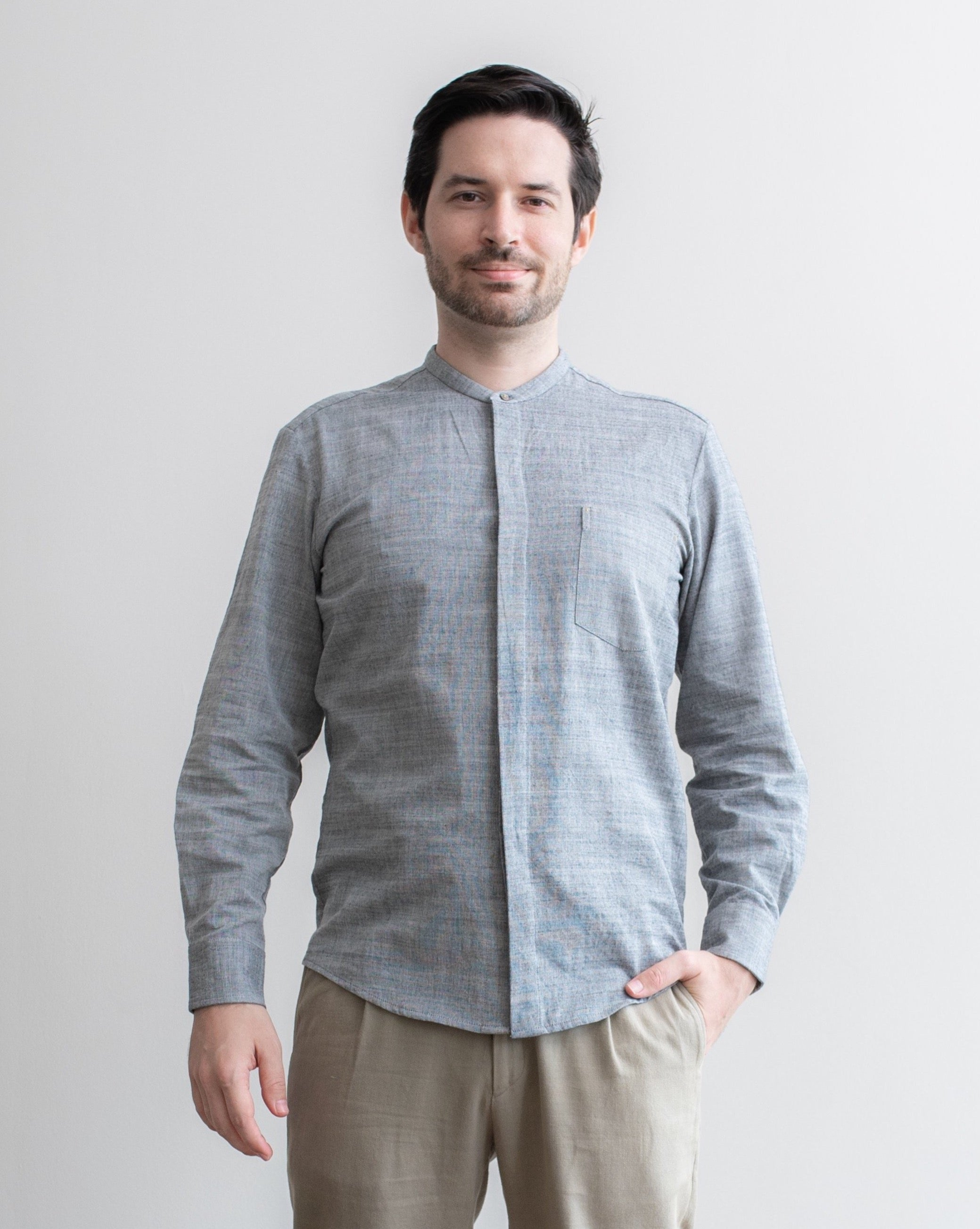 CHAMBRAY - Fitted Shirt