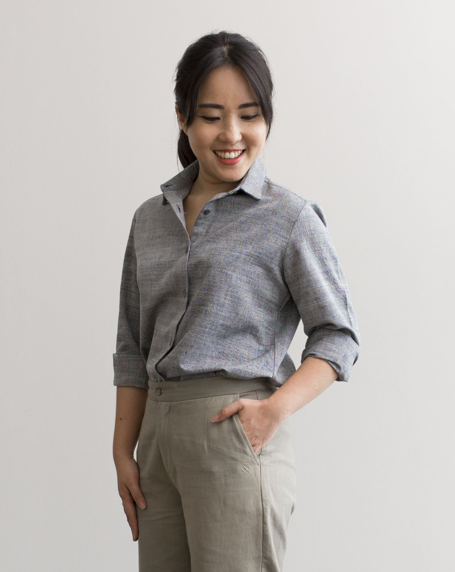 CHAMBRAY - Boss Lady Shirt