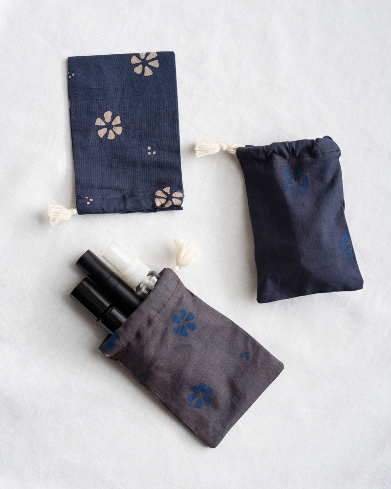 Jasmine Mini Travel Pouch - Set of 4