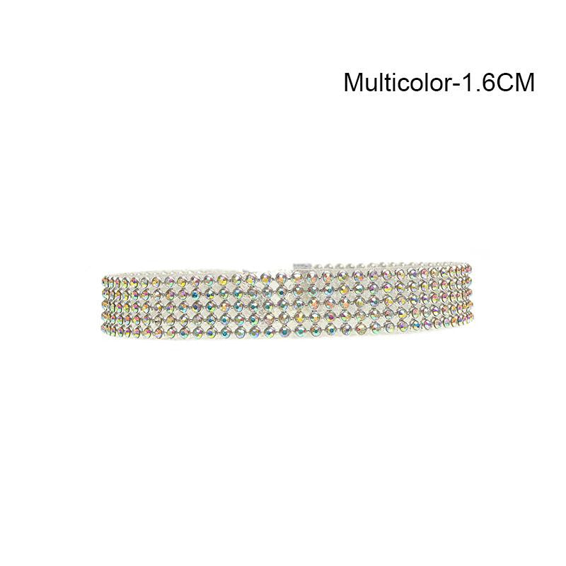 Crystal Choker (Six Sizes)