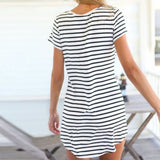 Loose Striped Dress