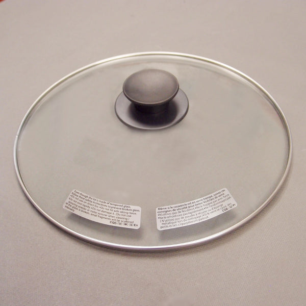 Glass Lid with Knob (CQE1092)