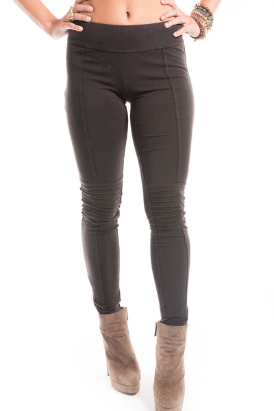 Black Moto Leggings - Sadie Coleman