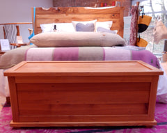 pitch pine blanket box