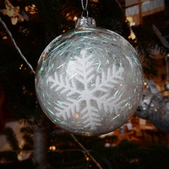 Christmas bauble close up