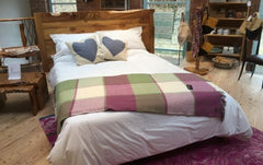 Wooden Bed at Paul Hodgkiss designs