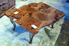 Burr Elm Coffee table