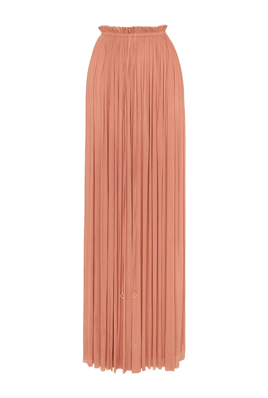 Load image into Gallery viewer, Blush Silk Skirt