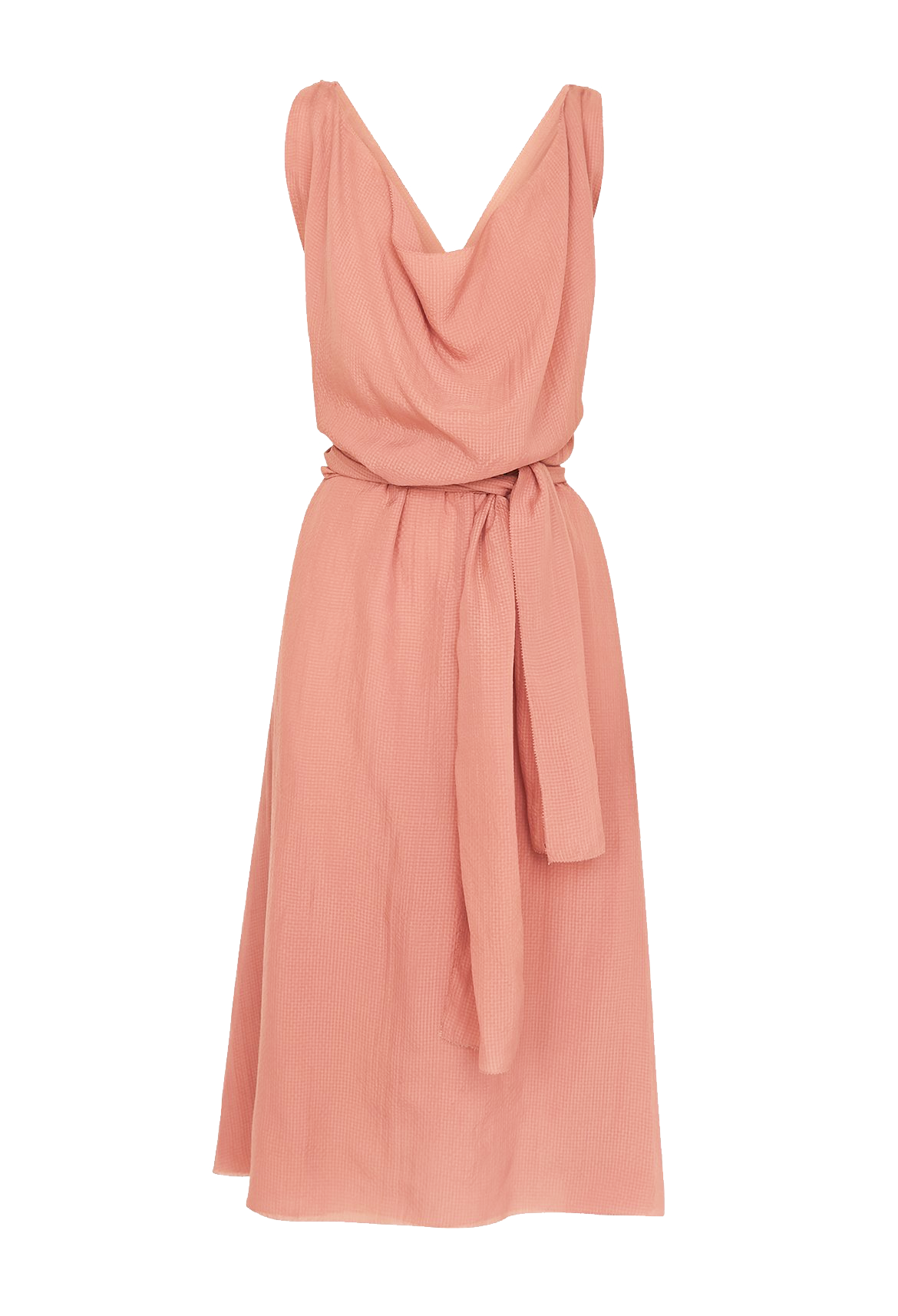 Blush Waterfall Dress