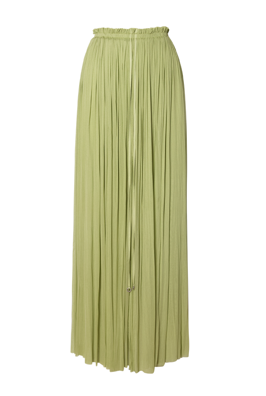 Load image into Gallery viewer, Mint Silk Tulle Skirt