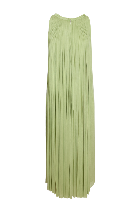 Load image into Gallery viewer, Mint Silk Tulle Dress