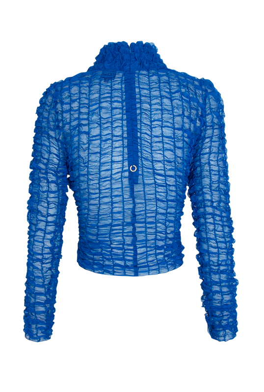 Load image into Gallery viewer, Cobalt Smock Top