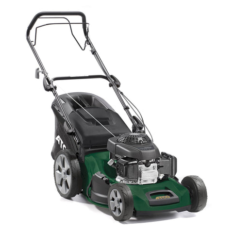 "Atco Quattro 19SH 4 in 1 (19"" 48cm) Self-Propelled Mulching Petrol Lawn Mower"