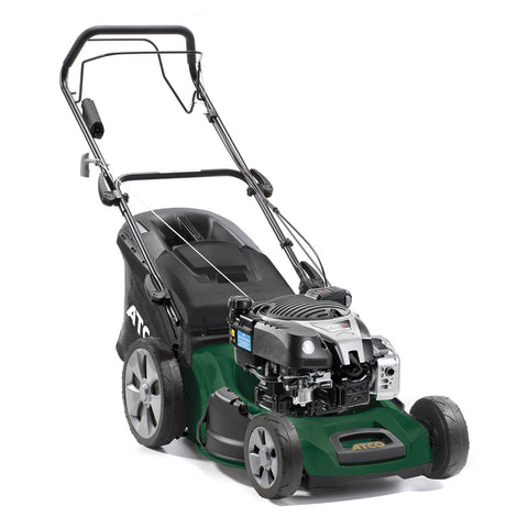 "Atco Quattro 19SE 4 in 1 (19"" 48cm) Self-Propelled Mulching Petrol Lawn Mower"