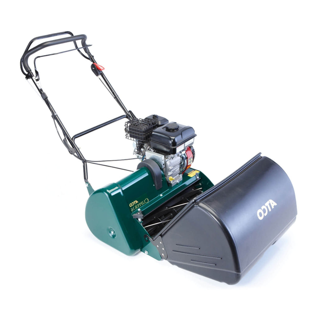 "Atco Clipper 16 (16"" 40cm) Rear Roller Self-Propelled Cylinder Petrol Lawn Mower"