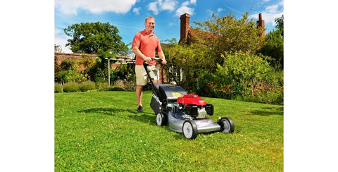 "Honda Izy HRG 536 VY (21"" 53cm) Self Propelled Roto-Stop Petrol Lawn Mower"