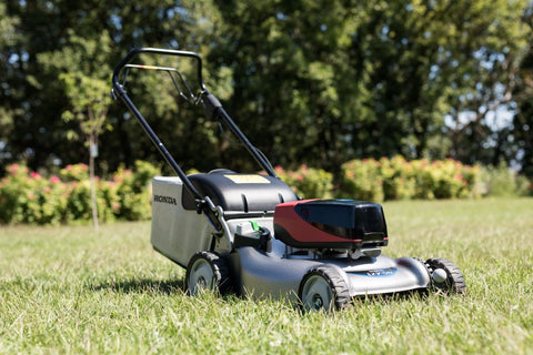 "Honda HRG 466 XBSEEA 18""/41cm Self Propelled Battery Lawn Mower"