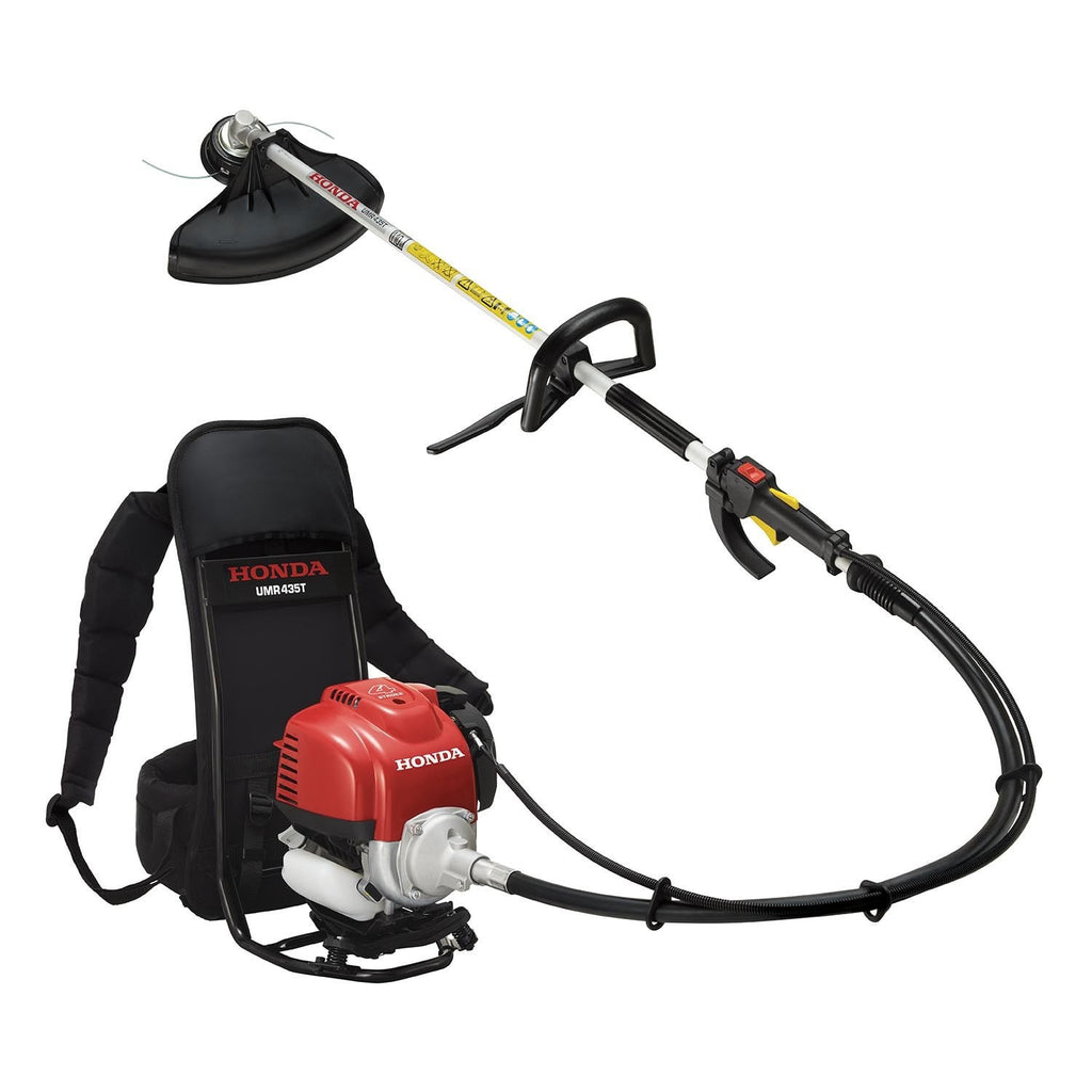 Honda UMR 435 LE (35cc) Petrol Brushcutter Backpack Type D-Loop & Barrier Bar
