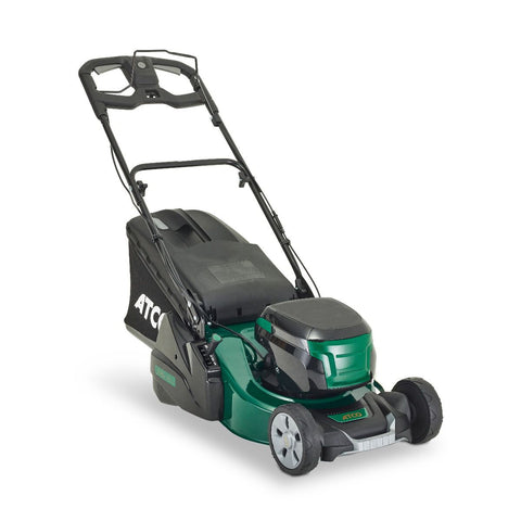 "Atco Liner 18S Li (18"" 46cm) Rear Roller Self-Propelled Li Battery Lawn Mower"