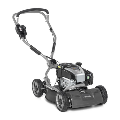 "Stiga Multiclip 50 SXE B (19"" 48cm) Self-Propelled Mulching Petrol Lawn Mower"