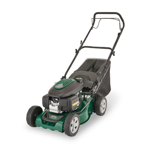 "Atco Quattro 16 SH (16"" 41cm) 4 in 1 Self Propelled Petrol Lawn Mower"