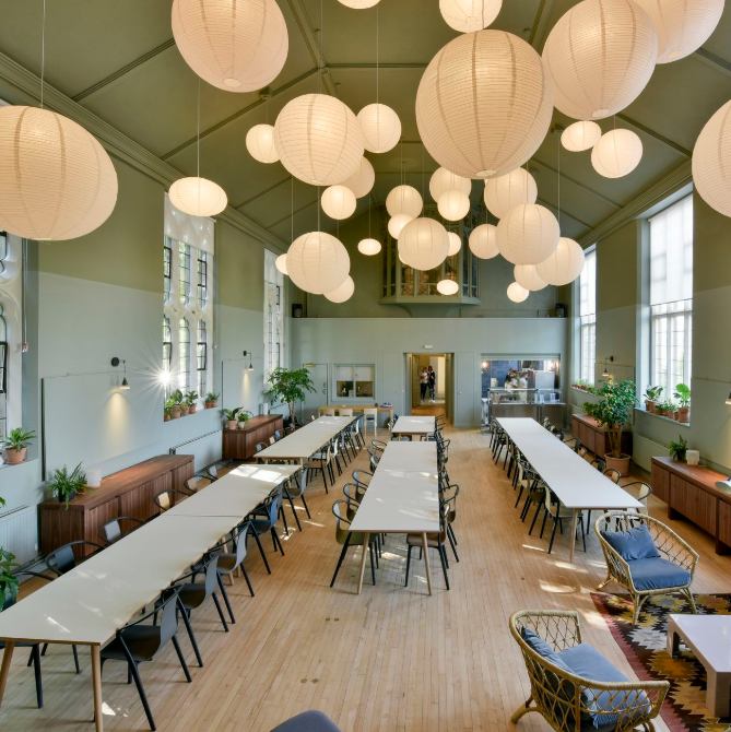 A zero-waste restaurant for homeless people, staffed by Michelin-starred chefs