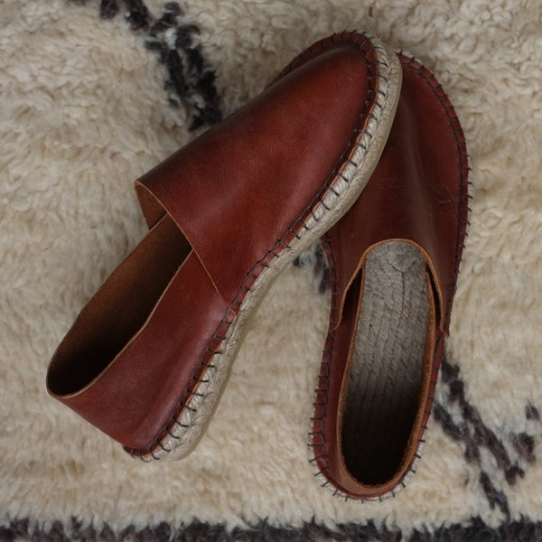 Sustainable handmade espadrilles