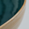 Close up of serving bowl rim