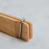 Close Up of Wooden Tongs