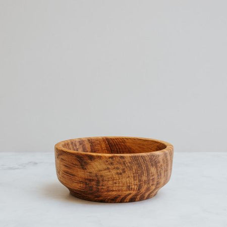 Handturned Ash Wood Bowl