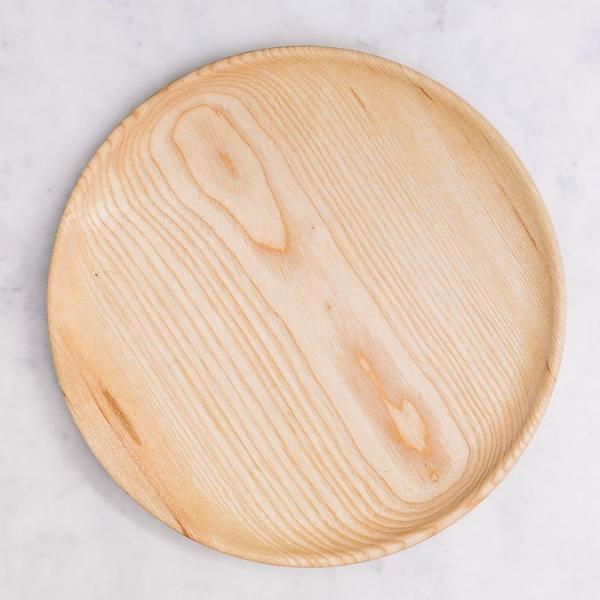 Handmade Wooden Plate, Made in The UK
