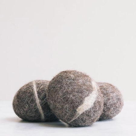 Non toxic soap pebble, made in the Uk from wool