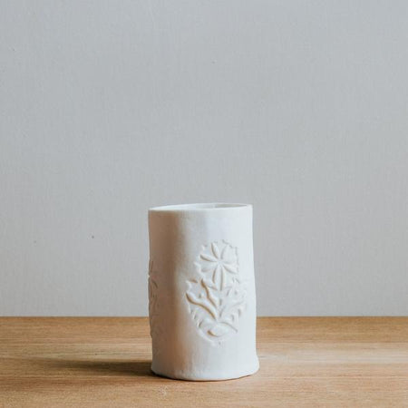 Porcelain Candle Holder, Ethical Gift, Made in the UK