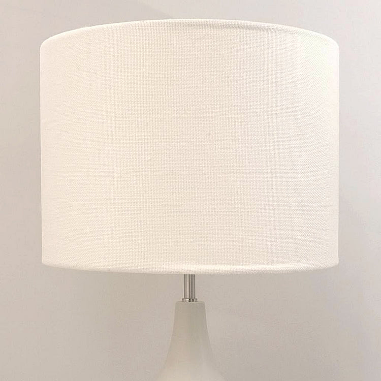 Cream linen lightshade