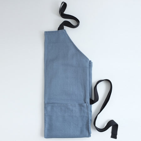 Organic denim apron