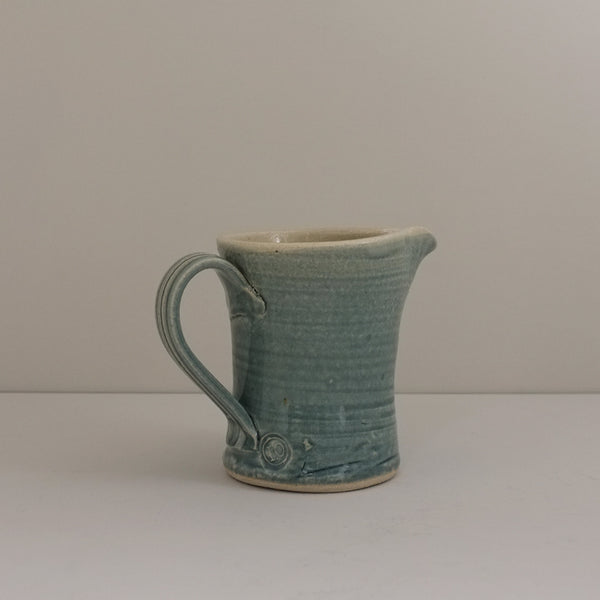 Ceramic Jug, Teal