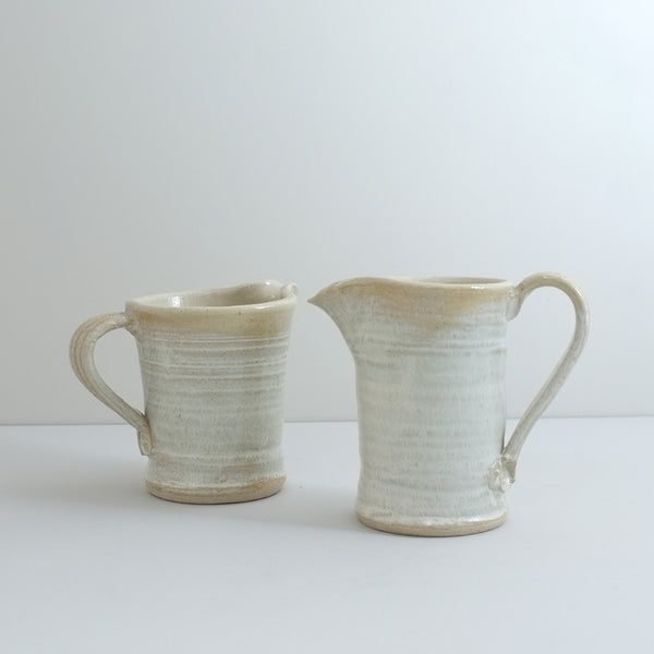 Handmade Ceramic Jug, Cream