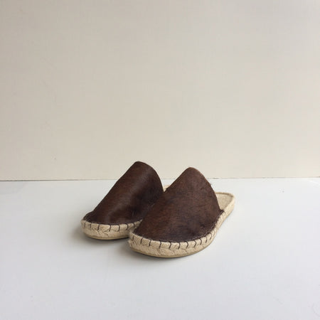 Handmade Backless Slipper Espadrilles