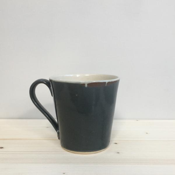 Large Stoneware Mug, Grey