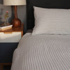 Striped Linen Bed Linen, ethically made in the UK